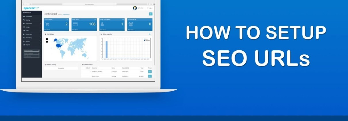 How to Set up SEO URLs in OpenCart 3.x