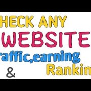 How to check website earning,traffic or ranking on internet