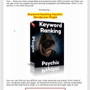 Keyword Ranking Psychic Review-Ranking With Keyword Psychic