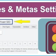 |Yoast SEO Best Settings| Titles & Metas Settings Rank Your Website Post On #1 L-3