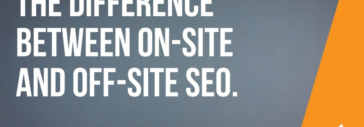 The Difference Between On-Site and Off-Site SEO