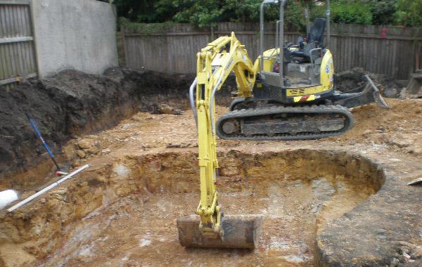 Excavating A Basement