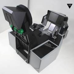 Flight Simulator Chair 360 Graco High Seat Cover F 16 35 18 A 10 Cockpit With Ejection