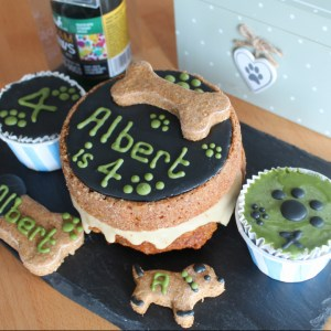 Dog Birthday Boy Cake