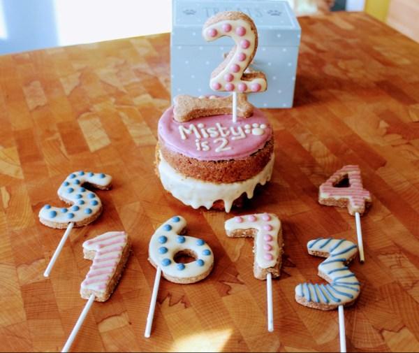 Dog Birthday Cake Topper