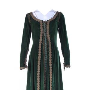 Vikings Queen Kwenthrith Screen Worn Stunt Double Dress
