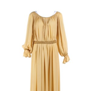Vikings Torvi Georgia Hirst Screen Worn Dress & Belt Ep 609