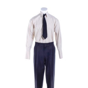 Fargo Loy Cannon Chris Rock Screen Worn Shirt Pants & Tie Ep 403