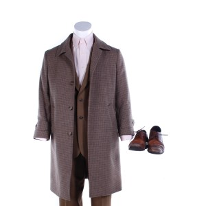 Fargo Josto Fadda Jason Schwartzman Screen Worn Coat Suit Shirt Suspenders Cufflinks & Shoes Ep 401
