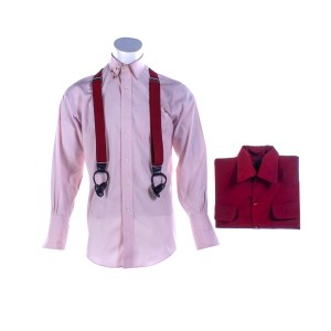 Fargo Josto Fadda Jason Schwartzman Screen Worn Stunt Jacket Shirt & Suspenders Ep 411