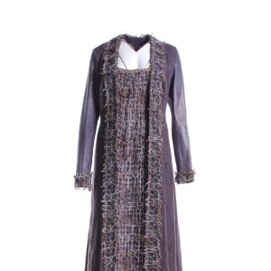 Vikings Queen Aslaug Alyssa Sutherland Screen Worn Coat Dress & Necklace Ep 201