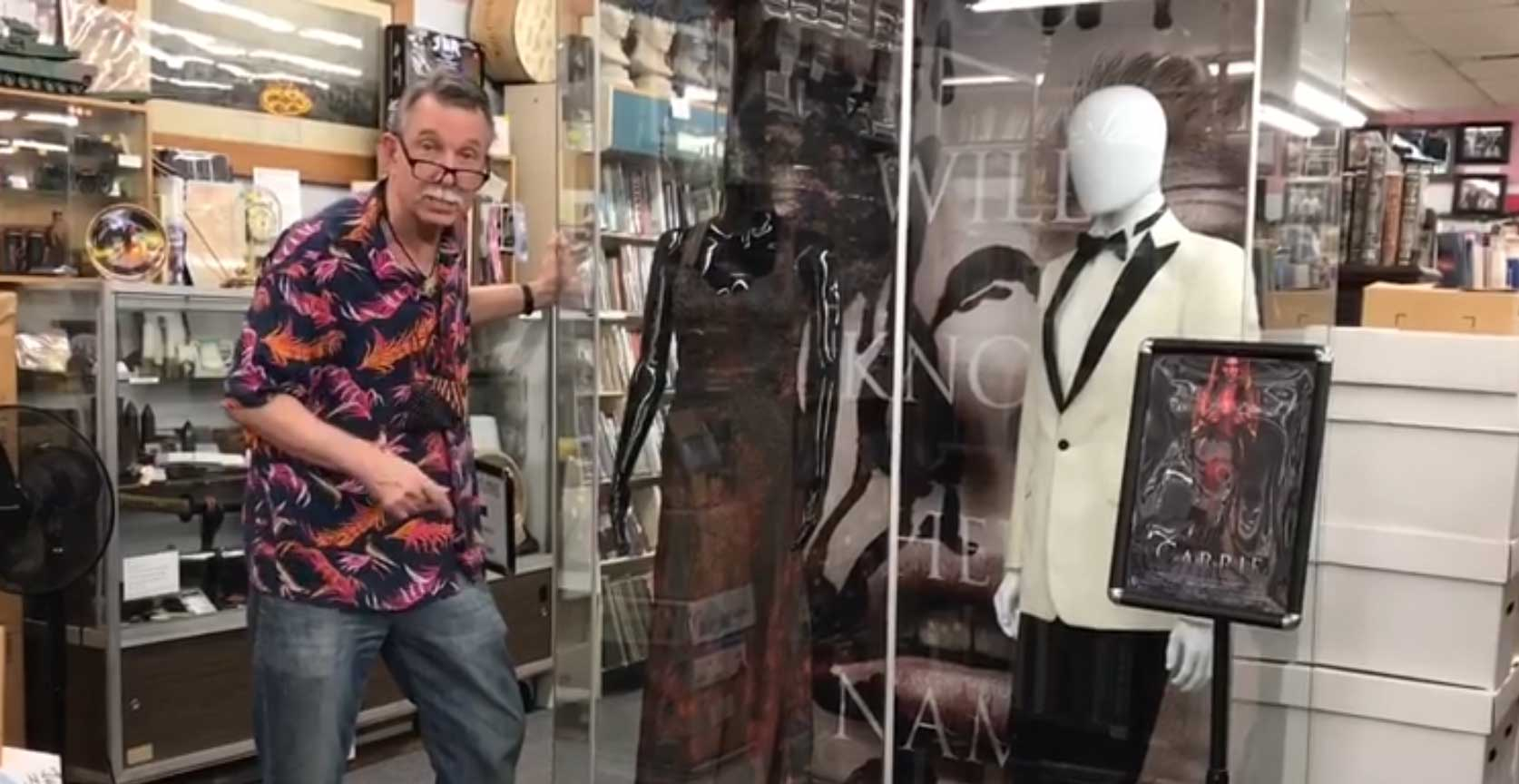 Washington Street Books Shows off 'Carrie' Movie Costumes