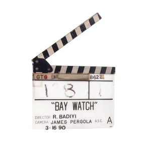 Lot #23 – Baywatch (1989-2001) Production Used Clapperboard