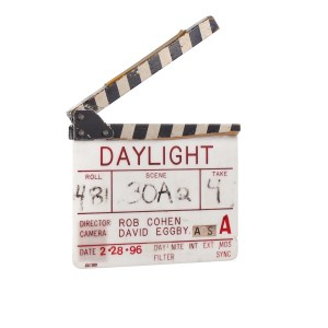 Lot #73 – Daylight (1996) Production Used Clapperboard