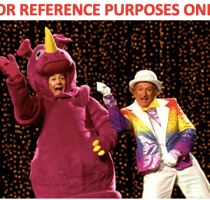 Lot #74 – Death To Smoochy (2002) Production Used Action Figure Heads Smoochy The Rhino Concept Art & Pictures