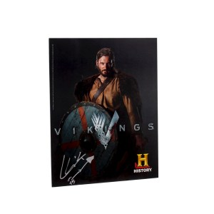 Lot #264 – Vikings (2013-2020) Rollo Clive Standen Autographed Photo Ss 1
