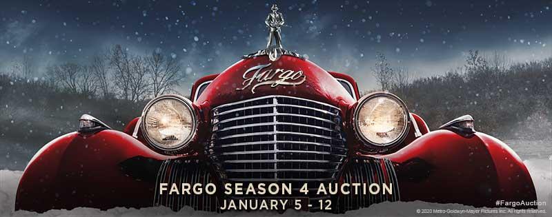 FARGO SEASON 4 AUCTION STARTS JANUARY 5th