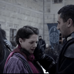 Lot #130 – Last Knights (2015) Bartok Clan Flag