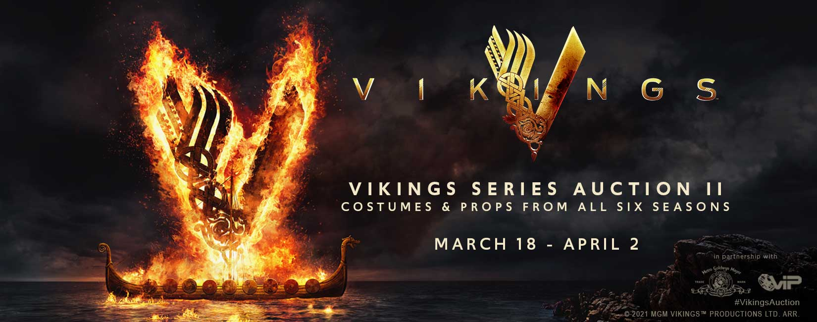 All Roads Lead to the Throne: Vikings Series Auction II Event