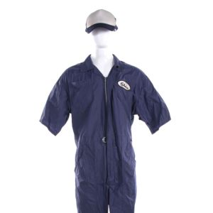 Lot #14 – Bad Trip Chris Carrey Eric Andre Screen Worn Coveralls & Hat Ch 1