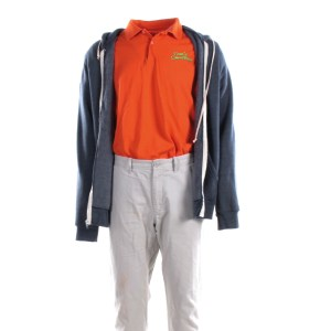 Lot #37 – Bad Trip Chris Carrey Eric Andre Screen Worn Stage 2 Sam's Smoothies Uniform Ch2
