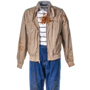 Lot #38 – Bad Trip Bud Malone  Lil Rel Howery Screen Worn Stage 2 Jacket Shirt & Pants Ch 3B