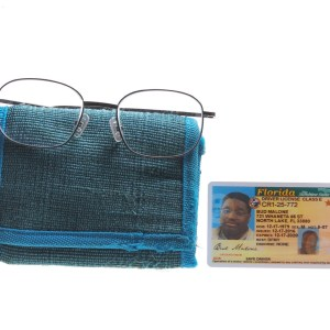 Lot #10 – Bad Trip Bud Malone  Lil Rel Howery Screen Used Glasses Wallet & Drivers License