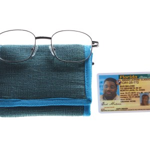 Lot #15 – Bad Trip Bud Malone  Lil Rel Howery Screen Used Glasses Wallet & Drivers License
