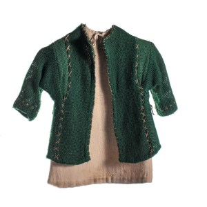 Lot #175 – Vikings Viking Child Production Worn Coat & Tunic
