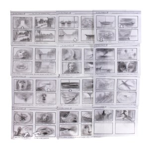 Lot #205 – Vikings Production Used Ragnar Ivar & Aslug Storyboards Ep 412 & 414