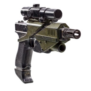 """Lot #226 – Space Above and Beyond (1995-1996) Space Marine / """"Wildcards"""" Screen Used USMC M-70 Handgun"""