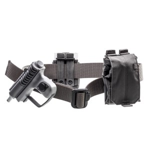 Lot #56 – Bill & Ted Face The Music (2020) Future Guard Production Used Gun Belt & Holster Set