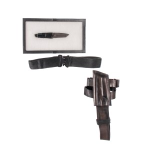 Lot #30 – Altered Carbon (2018-2020) Wedge-Simone Screen Used Belt Holster & Knife Ss 2