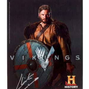 Lot #287 – Vikings (2013-2020) Autographed Rollo Photo & Siggy Photo Ss 1