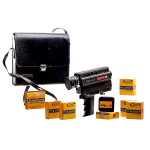 Lot #101 – Dear White People (2017-2021) Sam White Logan Browning Screen Used Film Camera Case & Movie Films Ss 1-3