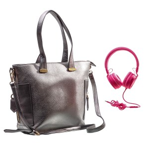 Lot #97 – Dear White People (2017-2021) Coco Connors Antoinette Robertson Screen Used Purse & Headphones Ep 104 & 305