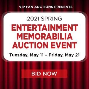 Spring Entertainment Memorabilia Auction Event