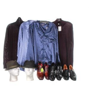 Lot #78 – Respect Ted White Marlon Wayans Production Closet Wardrobe Lot Set
