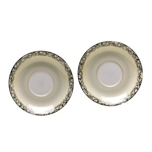 Lot #23 – Respect Franklin Family Screen Used China Set Sc 21