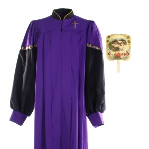Lot #26 – Respect Temple Missionary Church Screen Used Fan Set & Choir Robe Set Sc 7-8