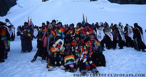 Festival of the Snows Peru