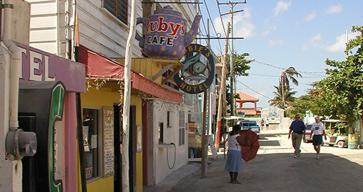 Ruby's Cafe Ambergris Caye Belize