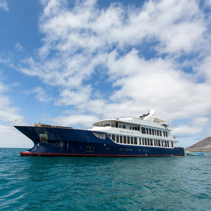 luxury yacht galapagos Origin