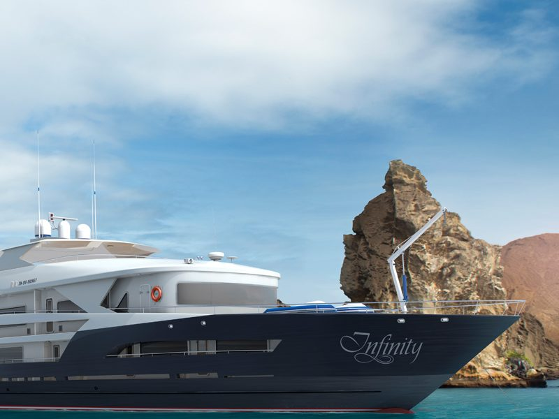 infinity yacht galapagos islands