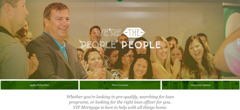 New VIP Mortgage Website Launch