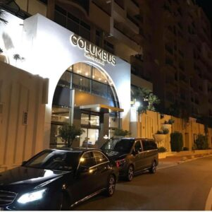 Transfer nice airport to Monaco: pick up in Columbus hotel