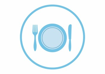 Food Food Icon Png Blue Transparent PNG Download #1135167 Vippng