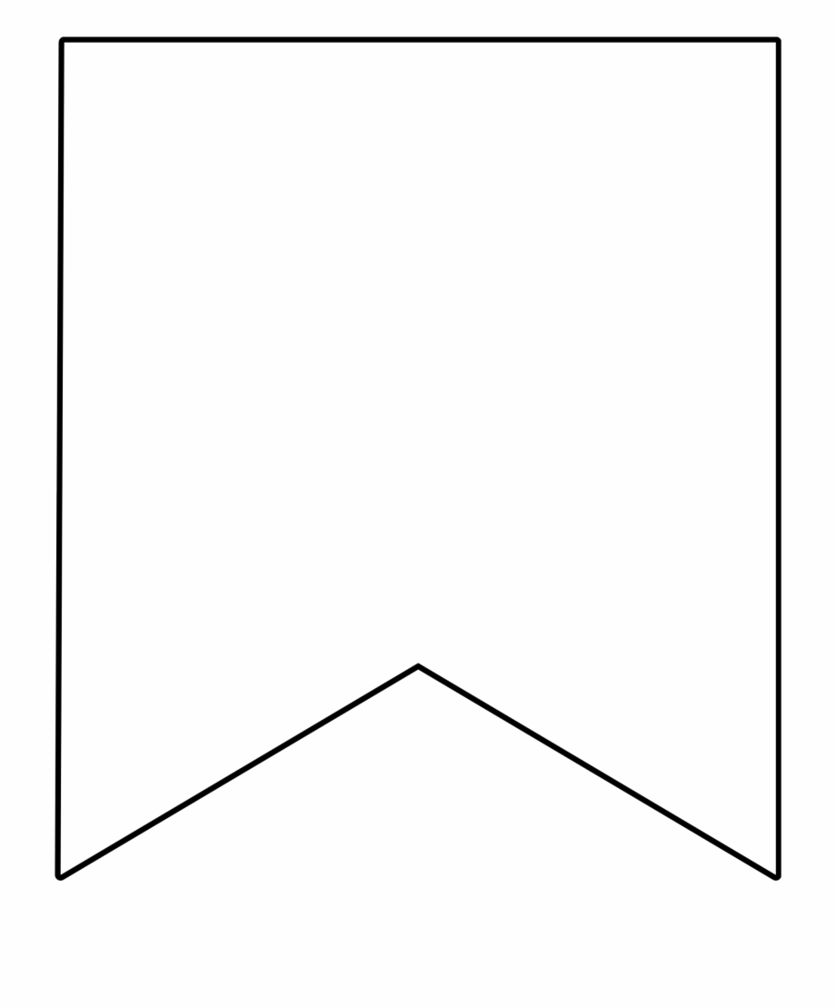 Banner Png Black And White : banner, black, white, White, Banner, Transparent, Image, Square, Bunting, Template, Download, #147418, Vippng