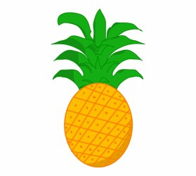 Pineapple Clipart Png Transparent PNG Download #1438784 Vippng