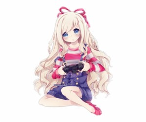 Gamer Cute Anime Girl Transparent PNG Download #2188861 Vippng
